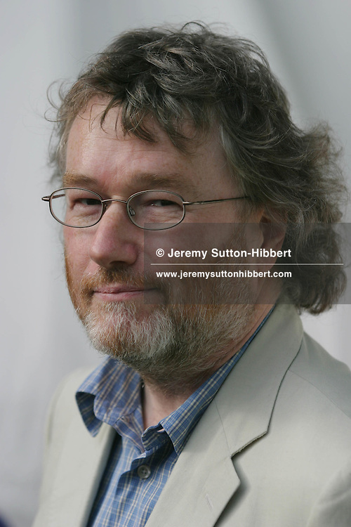 IAIN M. BANKS , SCOTTISH NOVELIST. Author of 'The Wasp Factory'. Edinburgh International Book Festival.