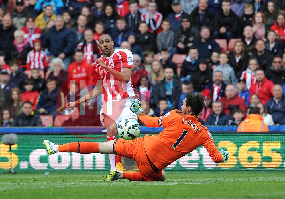 - Photo mandatory by-line: Dougie Allward/JMP - Mobile: 07966 386802 - 09/05/2015 - SPORT - Football - Stoke - Britannia Stadium<br />  - Stoke v Tottenham Hotspur - Barclays Premier League