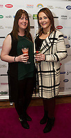 13/11/2015 Repro free:  Michelle Flatley Castlegar and Shona Egan Ballybane  at Galway Glamour  by Galway Shopping Centre at the g Hotel hosted by Sile Seoige  <br /> Photo:Andrew Downes, xposure.