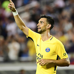 Javier Pastore of PSG makes the score 2-2 during the International Champions Cup match between Paris Saint Germain and Tottenham Hotspur on July 22, 2017 in Orlando, United States. (Photo by Dave Winter/Icon Sport)