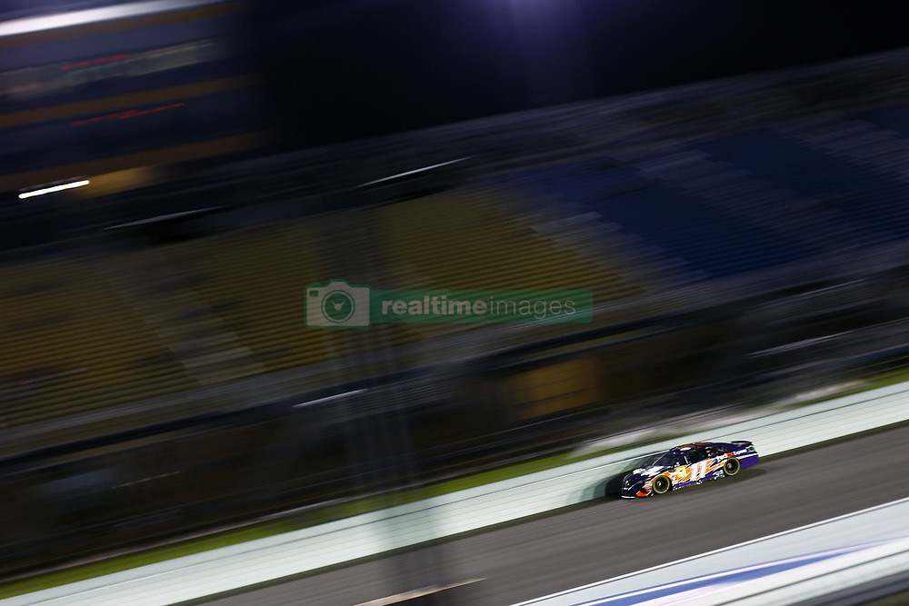 November 16, 2018 - Homestead, Florida, U.S. - Denny Hamlin (11) takes to the track to qualify for the Ford 400 at Homestead-Miami Speedway in Homestead, Florida. (Credit Image: © Justin R. Noe Asp Inc/ASP)