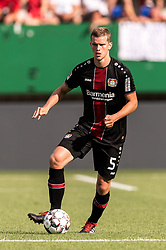 Sven Bender of Bayer 04 Leverkusen during the Pre-season Friendly match between Fortuna Sittard and Bayer Leverkusen at the Fortuna Sittard Stadium on July 28, 2018 in Sittard, The Netherlands