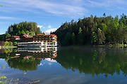 Parkhotel Tristacher See, Tyrol, Austria.
