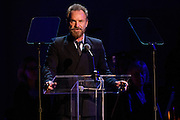 "Photos of Sting attending the ""It Always Seems Impossible Until It Is Done"" World AIDS Day event at Carnegie Hall in New York, NY on December 1, 2015. © Matthew Eisman/ Rolling Stone. All Rights Reserved"