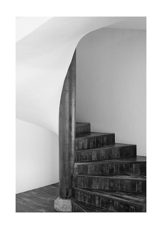 Stairs. Sri Lanka. Architect Geoffrey Bawa.