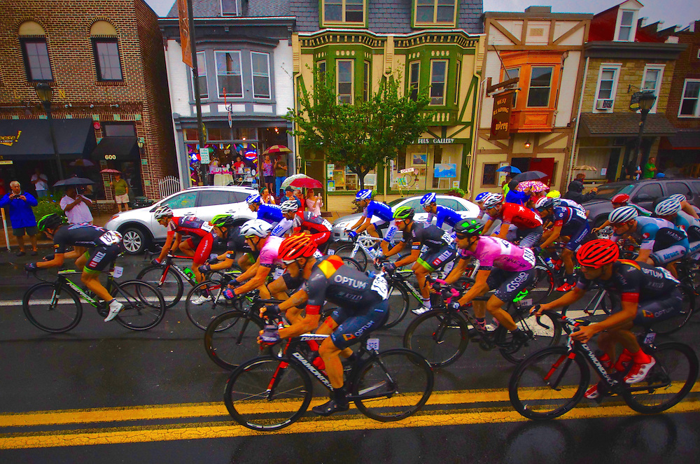 International bicycle racing, West Reading, Berks County, Pennsylvania