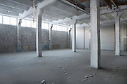 Interior of a warehouse
