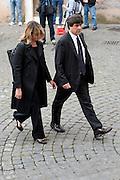 2013/05/07 Roma, funerali di Giulio Andreotti. Nella foto Luca Danese..Rome, funerals of Giulio Andreotti. In the picture Luca Danese - © PIERPAOLO SCAVUZZO