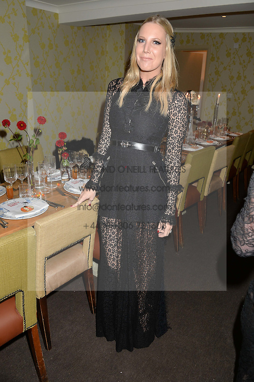 ALICE NAYLOR-LEYLAND at the Bumpkin Halloween Dinner hosted by Marissa Hermer held at Bumpkin, 119 Sydney Street, London on 23rd October 2014.