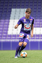 16.07.2019, Generali Arena, Wien, AUT, 1. FBL, FK Austria Wien, Fototermin, im Bild Dominik Fitz // Dominik Fitz during the official team and portrait photoshooting of tipico Bundesliga Club FK Austria Wien for the upcoming Season at the Generali Arena in Vienna, Austria on 2019/07/16. EXPA Pictures © 2019, PhotoCredit: EXPA/ Florian Schroetter