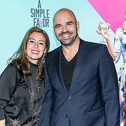 NLD/Amsterdam/20180926 - Premiere 'A Simple Favor', Peter Post en partner
