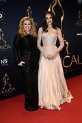 Musical Awards Gala 2016 in het Beatrix Theater Utrecht<br /> <br /> Op de foto:  Antje Monteiro  en haar dochter Romy Monteiro