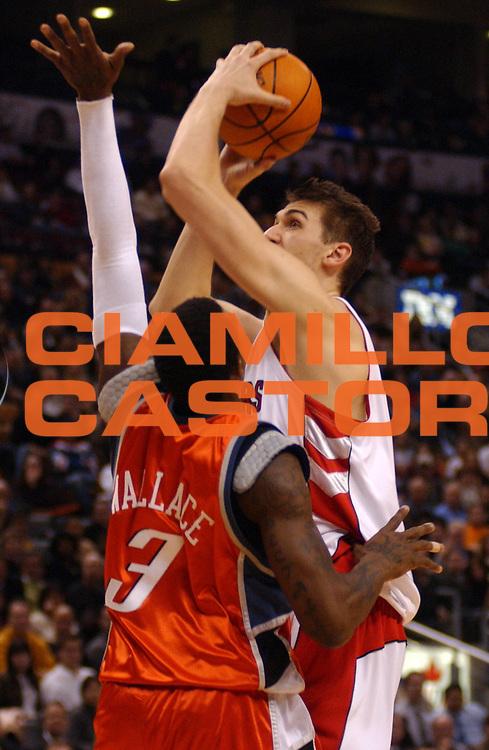 DESCRIZIONE : Toronto Campionato NBA 2006-2007 Toronto Raptors-Charlotte Bobcats<br /> GIOCATORE : Bargnani<br /> SQUADRA : Toronto Raptors <br /> EVENTO : Campionato NBA 2006-2007 <br /> GARA : Toronto Raptors Chicago Bulls<br /> DATA : 22/01/2007 <br /> CATEGORIA : <br /> SPORT : Pallacanestro <br /> AUTORE : Agenzia Ciamillo-Castoria/V.Keslassy<br /> Galleria : NBA 2006-2007 <br /> Fotonotizia : Toronto Campionato NBA 2006-2007 Toronto Raptors Charlotte Bobcats<br /> Predefinita :