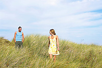 Young Couple in Dunes