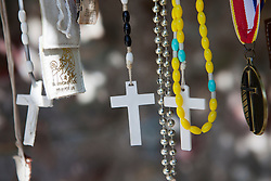 crosses and religious necklaces
