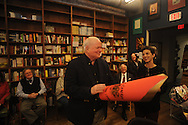 "Author Pat Conroy appears at Off Square Books to sign and talk about his book ""My Reading Life"" in Oxford, Miss. on Wednesday, November 3, 2010. On a previous visit to Oxford, Conroy dubbed the city ""The Vatican City of Southern Letters"". On Wednesday, the store dubbed Conroy the Pope of the Vatican City of Southern Letters."
