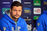 Damien CHOULY - 01.05.2015 - Conference de presse Clermont avant la finale - European Rugby Champions Cup -Twickenham -Londres<br /> Photo : David Winter / Icon Sport