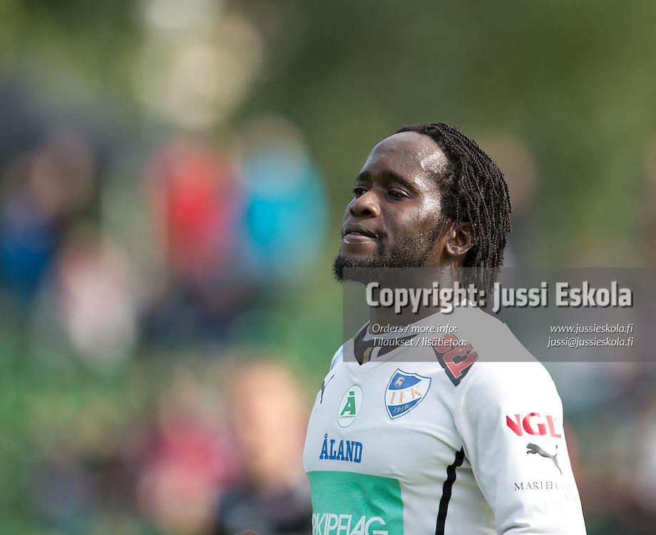 Alanzo Adlam. FC Lahti - IFK Mariehman, MIFK. Veikkausliiga. Lahti. 21.7.2013. Photo: Jussi Eskola