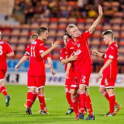 Dunfermline v Raith Rovers   Petrofac Training Cup   05 August 2014