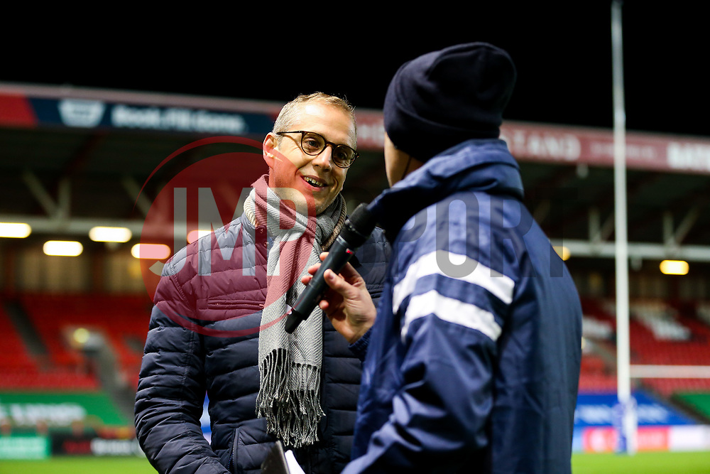Movember interview - Rogan/JMP - 02/11/2018 - RUGBY UNION - Ashton Gate Stadium - Bristol, England - Bristol Bears v Gloucester Rugby - Premiership Rugby Cup.
