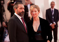 Alba Rohrwacher, Saverio Costanzo at the premiere gala screening of the film Suspiria at the 75th Venice Film Festival, Sala Grande on Saturday 1st September 2018, Venice Lido, Italy.