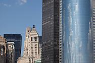 New York . Architecture, downtown, lower manhattan cityscape  New york - United states  Manhattan /  le bas de la ville  New york - Etats unis