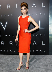 Blanca Blanco at the Los Angeles premiere of 'Arrival' held at the Regency Village Theater in Westwood, USA on November 6, 2016.