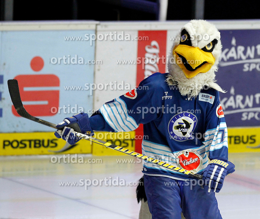 22.09.2013, Stadthalle, Villach, AUT, EBEL, EC VSV vs UPC Vienna Capitals, 9. Runde, im Bild das VSV Maskottchen // during the Erste Bank Icehockey League 9th round between EC VSV vs UPC Vienna Capitals at the City Hall, Villach, Austria, 2013/09/22, EXPA Pictures © 2013, PhotoCredit: EXPA/ Oskar Hoeher