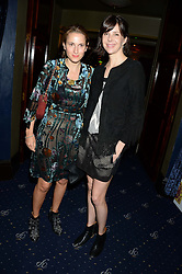 Left to right, CHRISTINA D'ORNANO and HENRIETTA CHANNON at the Hoping Foundation's 'Rock On' Benefit Evening for Palestinian refuge children held at the Cafe de Paris, London on 20th June 2013.