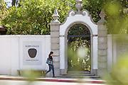 Scripps College Honnold Gateway in Claremont California