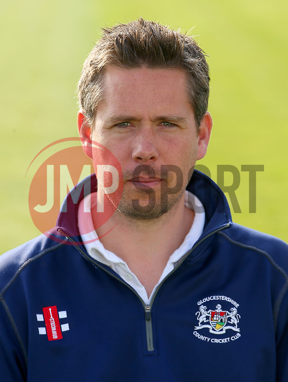 Gloucestershire CCC assistant coach Mark Thorburn - Photo mandatory by-line: Dougie Allward/JMP - 07966 386802 - 10/04/2015 - SPORT - CRICKET - Bristol, England - Bristol County Ground - Gloucestershire County Cricket Club Photocall.