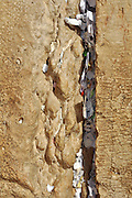 Wailing Wall, Jerusalem old city, Israel Request Notes stuffed in the cracks expected to be read by a divine being