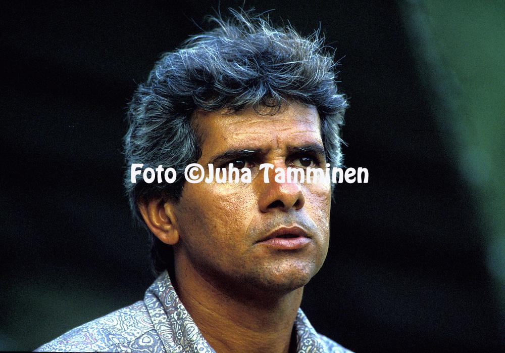 22.03.1992.Coach Artur Bernardes - Fluminense.©JUHA TAMMINEN