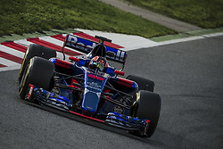 March 7, 2017 - CARLOS SAINZ JR. (ESP) drives on the track during day 5 of Formula One testing at Circuit de Catalunya (Credit Image: © Matthias Oesterle via ZUMA Wire)