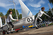 2016 World Championship 470 Class. <br /> San Isidro, Argentina. From 20 to 27 February 2016. <br /> The host, Club Nautico San Isidro is located north of the city of Buenos Aires.