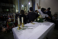 Ultimo saluto a don Andrea Gallo. Veglia. Genova, San Benedetto al Porto, 24 maggio 2013.
