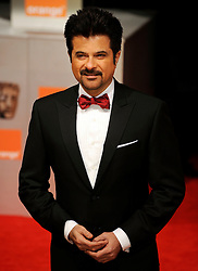 Anil Kapoor  arrives for the 2012 ORANGE BRITISH ACADEMY FILM AWARDS, The Bafta's at The Royal Opera House, Covent Garden, London. Photo By Andrew Parsons/ I-Images