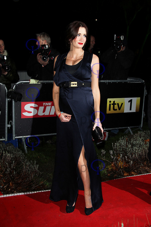 LONDON - DECEMBER 19: Peta Todd attends the The Sun Military Awards 'The Millies' at the Imperial War Museum, London, UK on December 19, 2011. (Photo by Richard Goldschmidt)
