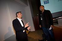 Peter Liguori (Chairman & CEO, Fox Broadcasting Company) and Krishnan Menon (Chairman & CEO, PHENOMENON Entertainment and Marketing)