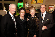 Ted and Joyce Strauss with Judy and Jack White.