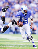Stephen Johnson.<br /> <br /> The University of Kentucky Football team falls to Ole Miss, 37-34 on Saturday, November 4, 2017 at Kroger Field in Lexington, Ky.<br /> <br /> Photo by Elliott Hess | UK Athletics