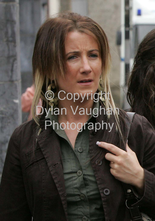 11/5/2010.File Picture.Sharon Rossiter pictured at Clonmel Court on the 27/6/2006, Sharon was yesterday sentanced at Clonmel Court in relation to drug offences..Picture Dylan Vaughan.