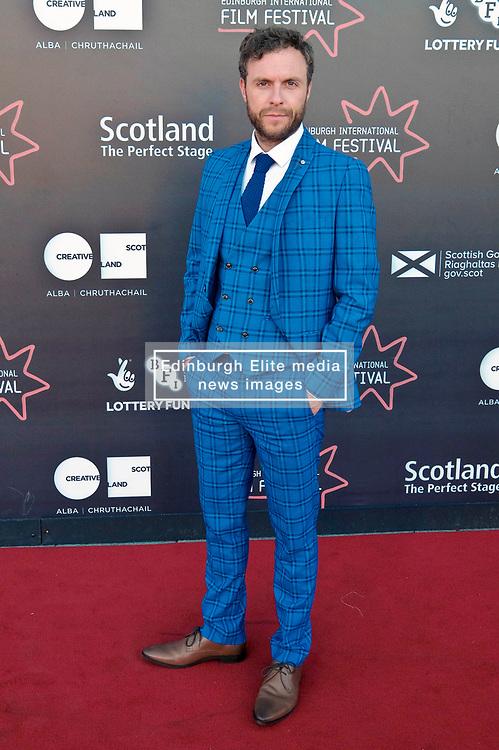 Edinburgh International Film Festival, Saturday, 24 June 2018<br /> <br /> STEEL COUNTRY (WORLD PREMIERE)<br /> <br /> Pictured:  David Elliot<br /> <br /> (c) Alex Todd | Edinburgh Elite media