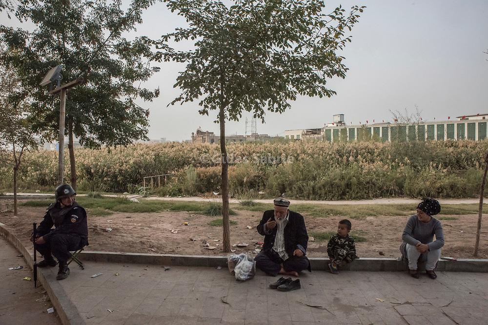 Kashgar. October 1st, 2017