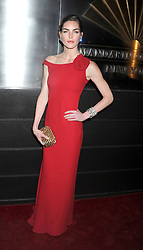 Hilary Rhoda attends the New Yorker's For Children's 10th Anniversary A Fool's Fete Spring Dance at Mandarin Oriental Hotel New York, USA, April 9, 2013. Photo by Imago / i-Images...UK ONLY.