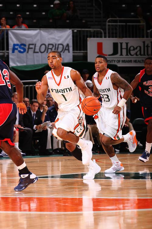 2009 Miami Hurricanes Men's Basketball vs Florida Atlantic