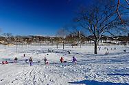 Winter, Snow, Branch Brook Park, Newark, New Jersey