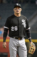 PHOENIX, AZ - MAY 24:  Avisail Garcia #26 of the Chicago White Sox looks on prior to the MLB game against the Arizona Diamondbacks at Chase Field on May 24, 2017 in Phoenix, Arizona. The Arizona Diamondbacks won 8-6.  (Photo by Jennifer Stewart/Getty Images)