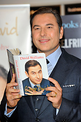 David Walliams signs copies of his autobiography 'Camp David' at Selfridges London, England, October 12, 2012. Photo by Chris Joseph / i-images.