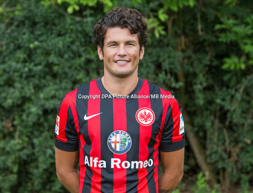 German Soccer Bundesliga - Photocall Eintracht Frankfurt on 29 July 2014 in Frankfurt, Germany: Nelson Valdez.
